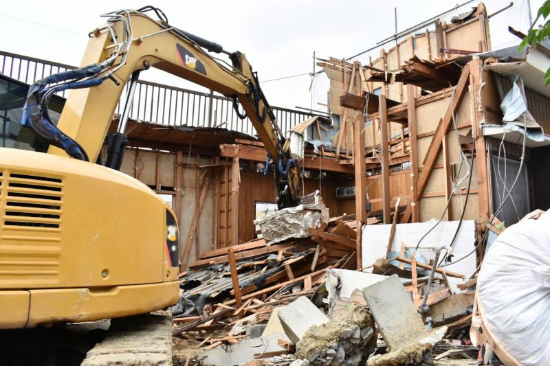 戸建て一棟解体工事イメージ1