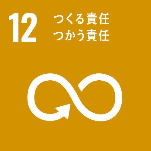 SDGsの目標12 つくる責 任とつかう責任 イメージ