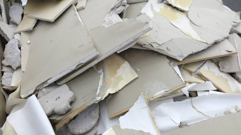 廃棄物撤去工事