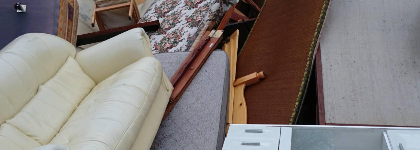 小口回収・一般家庭・一般オフィス廃品・粗大ゴミ回収サービスPCイメージ